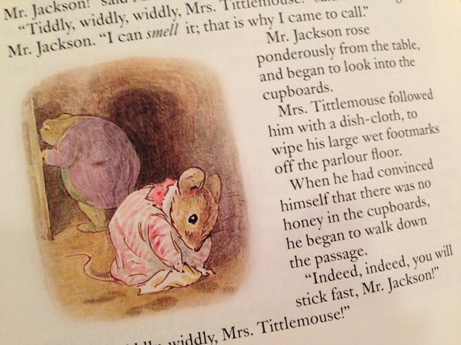 Mrs Tittlemouse 2