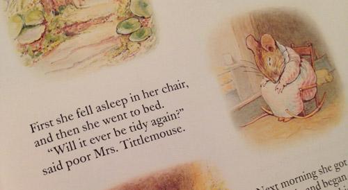 Mrs Tittlemouse