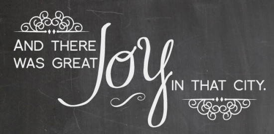 and there was great joy design