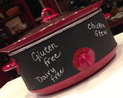 crockpot painted
