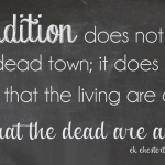 tradition-quote